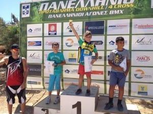 Επιτυχίες για τον ΤΑΛΩ στο Πανελλήνιο πρωτάθλημα 4cross - Downhill- bmx