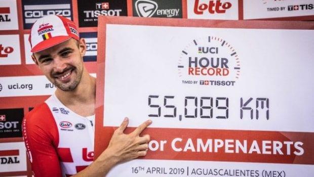 Ο Victor Campenaerts έσπασε το Ρεκόρ Ώρας της UCI!
