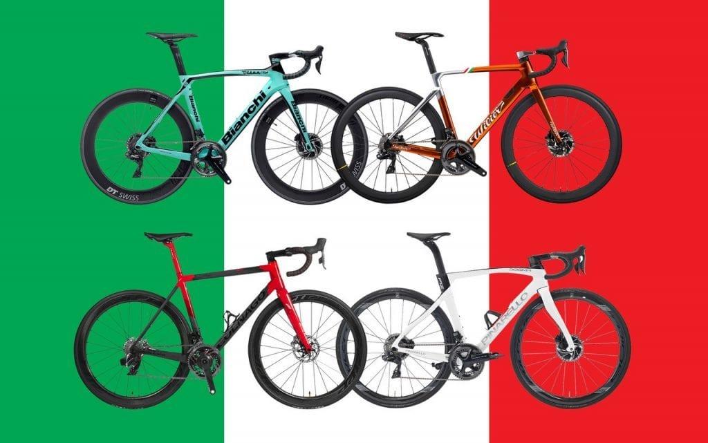 Τέσσερα ιταλικά ποδήλατα δρόμου που κλέβουν καρδιές!