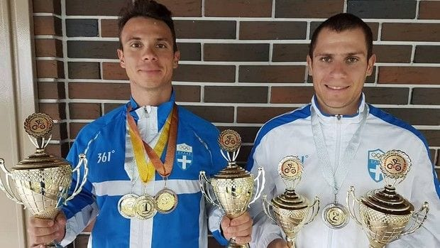 Τα αδέρφια Βολικάκη σάρωσαν τα μετάλλια στην Τούλα