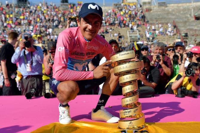 Carapaz: Είναι απίστευτο να λέω ότι είμαι ο νικητής του Γύρου της Ιταλίας