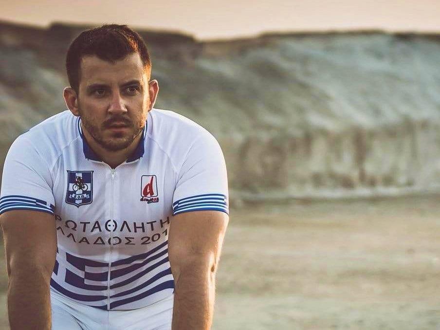 Ο Χρήστος Τσερεντζούλιας 4ος στο διεθνές Athens Gran Prix ποδηλασίας