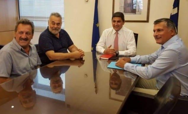 Συνάντηση Αυγενάκη με αντιπροσωπεία της ομοσπονδίας ποδηλασίας