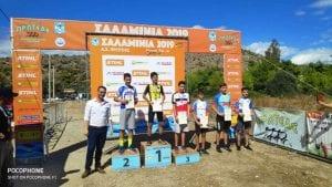 Ο ΣΥ.Φ.Α.ΓΕ. στους Διασυλλογικούς Αγώνες Ορεινής Ποδηλασίας στη Σαλαμίνα